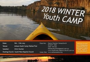 Winter Youth Camp 2018 @ Ankara Youth Camp | Walker Flat | South Australia | Australia