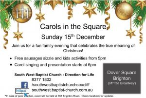 Carols in the Square 2019